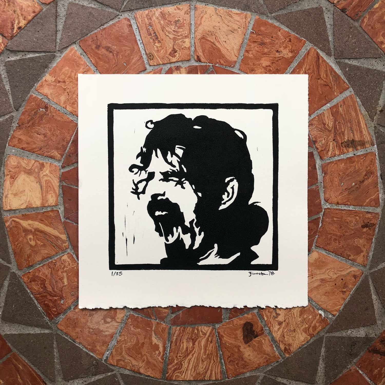 Image of Frank Zappa print