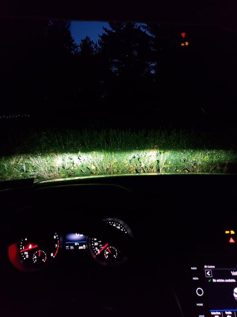 Image of H7 LED Forward Lighting Fog for the VW GTI / GOLF / GSW / ALLTRACK / JSW / Tiguan / Passat