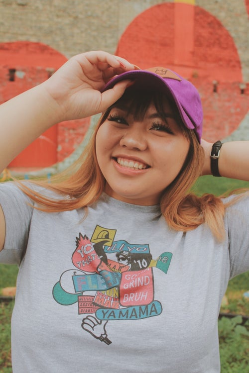 Image of STICKER BOMB 101 LADY TEES