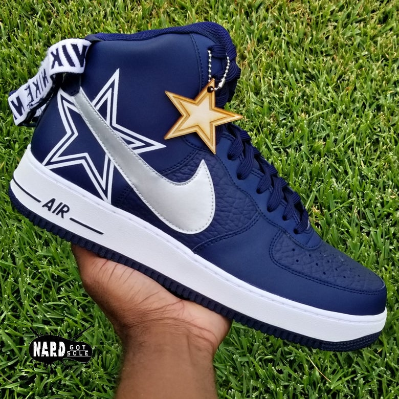 Image of Cowboys AF1 high