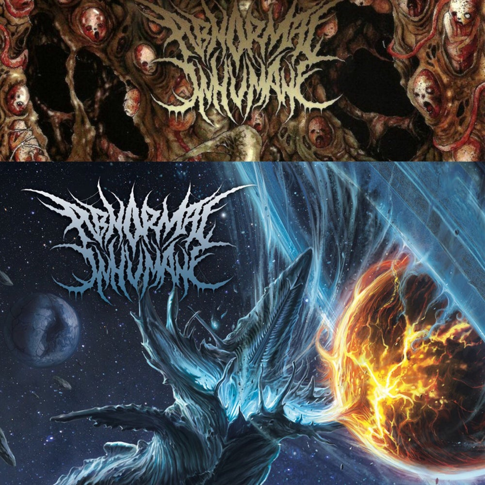 Image of ABNORMAL INHUMANE CDs