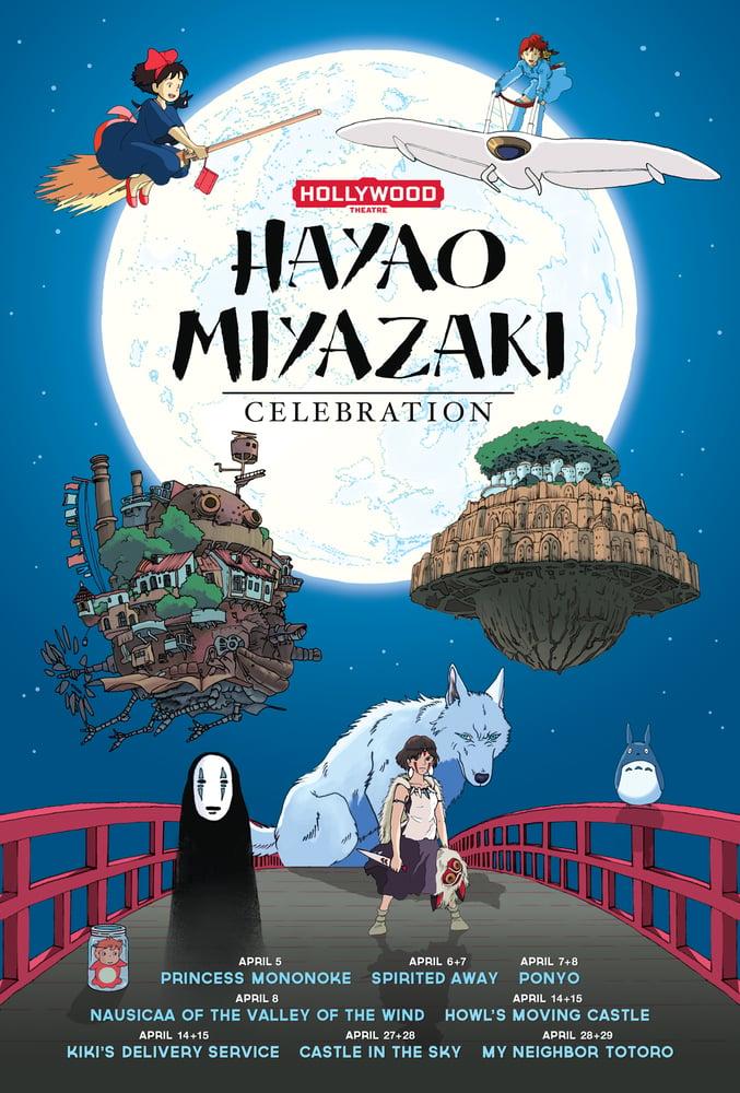 Image of Miyazaki Celebration Poster