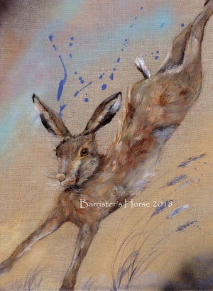 Image of PLAYFUL HARE, FINE ART PRINTS
