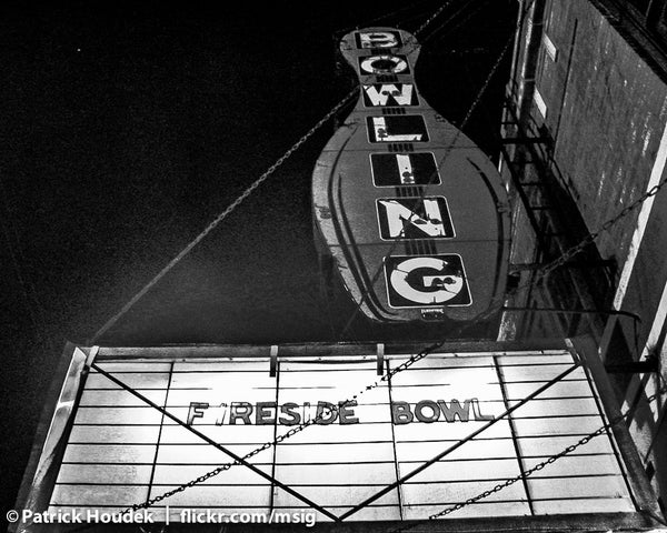 Image of The Fireside Bowl Marquee