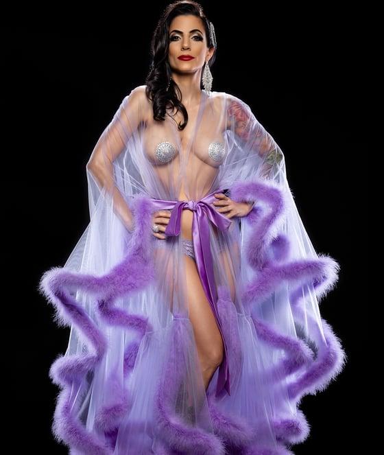 Image of Lavender Robe 3