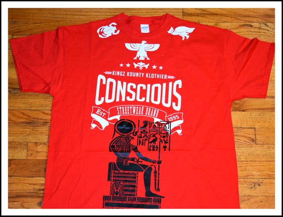 "Image of ""CONSCIOUS"" HERU THE ELDER TSHIRT"