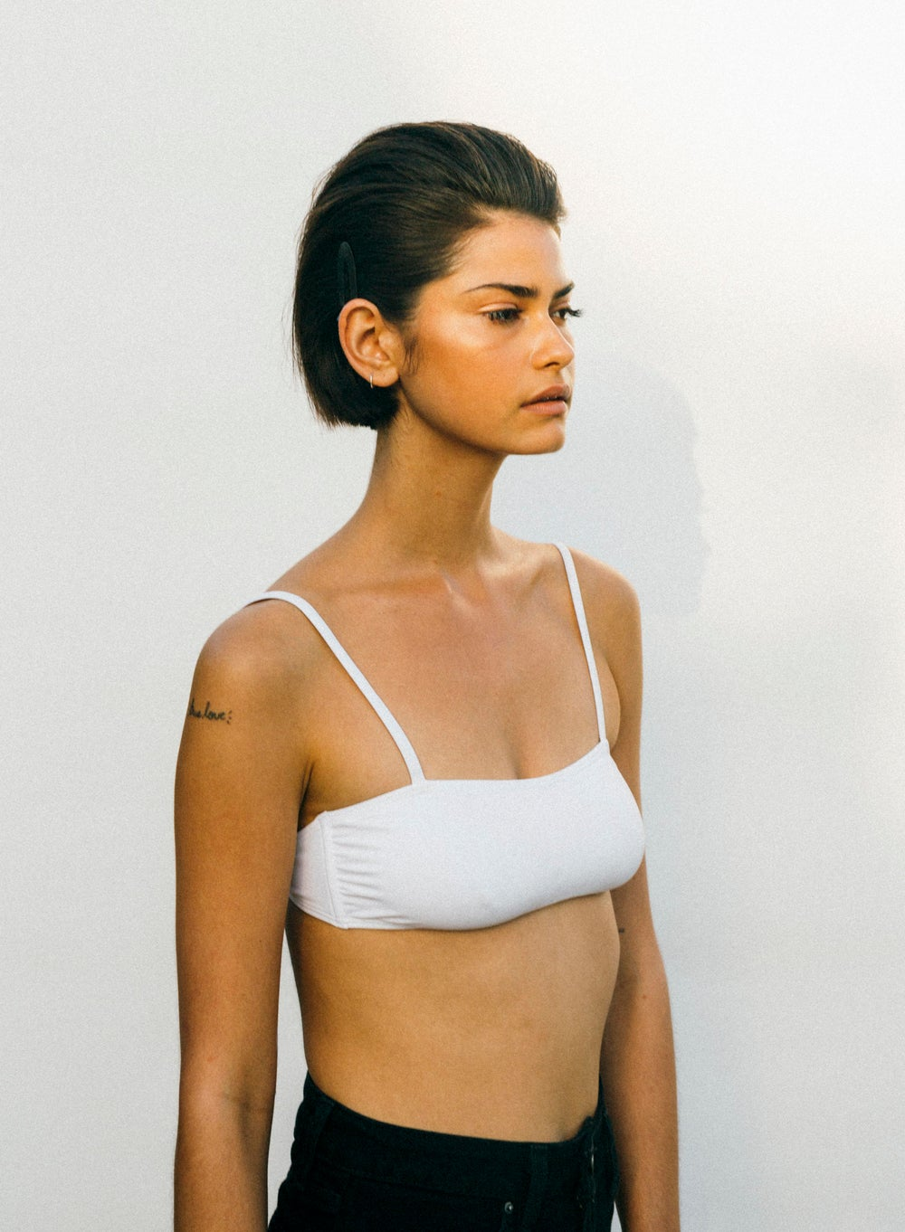 Image of The Bixby Top / White