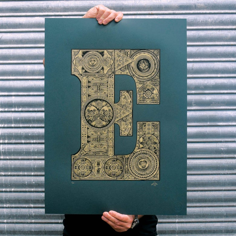 Image of The Illustrated Letter Project: 'E'