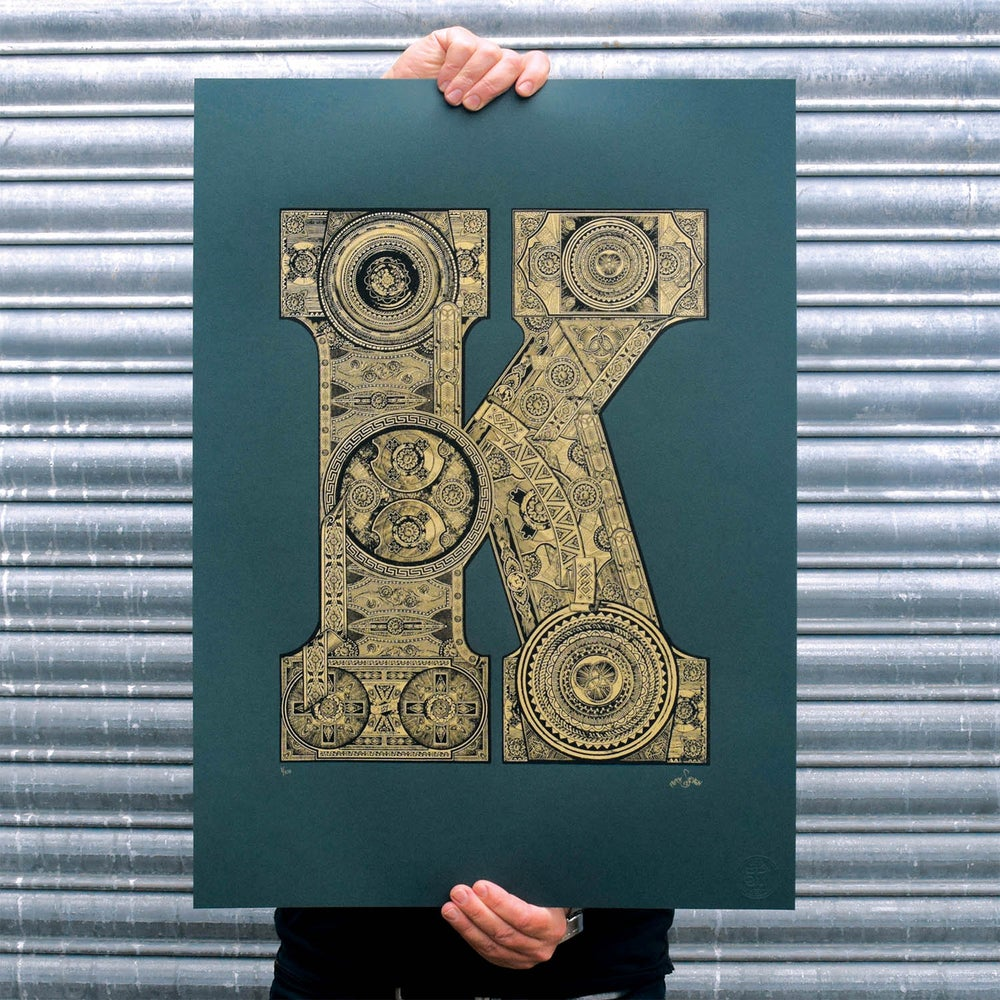 Image of The Illustrated Letter project: 'K'