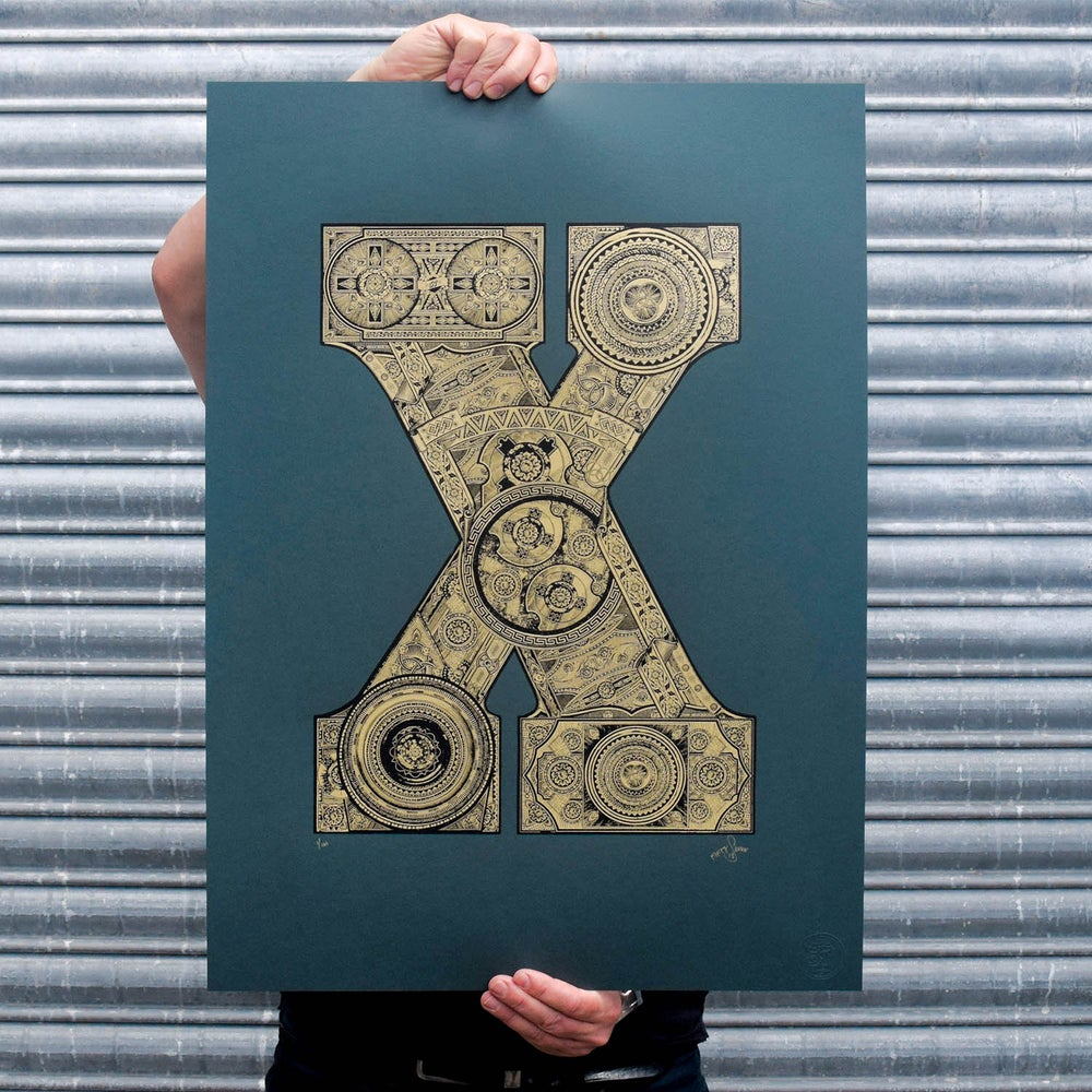Image of The Illustrated Letter project: 'X'