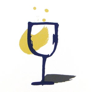 Image of A GLASS OF WINE