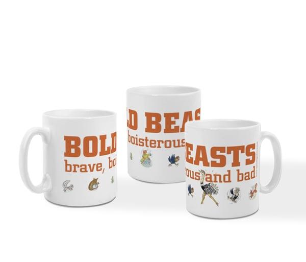 Image of Bold Beasts mug