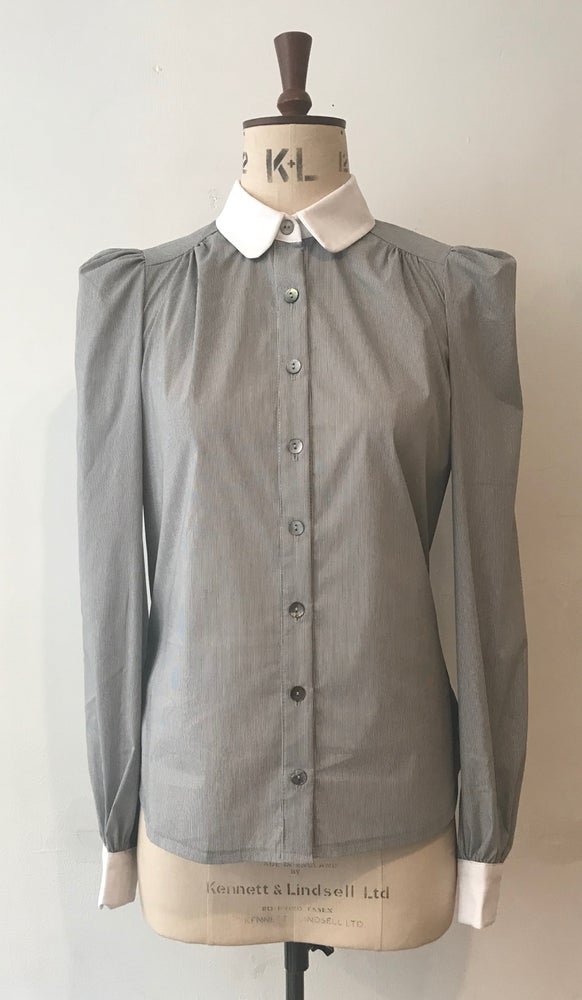 Image of Gathered Eton blouse