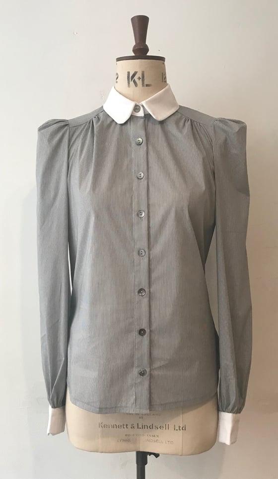 Image of Gathered Eton blouse
