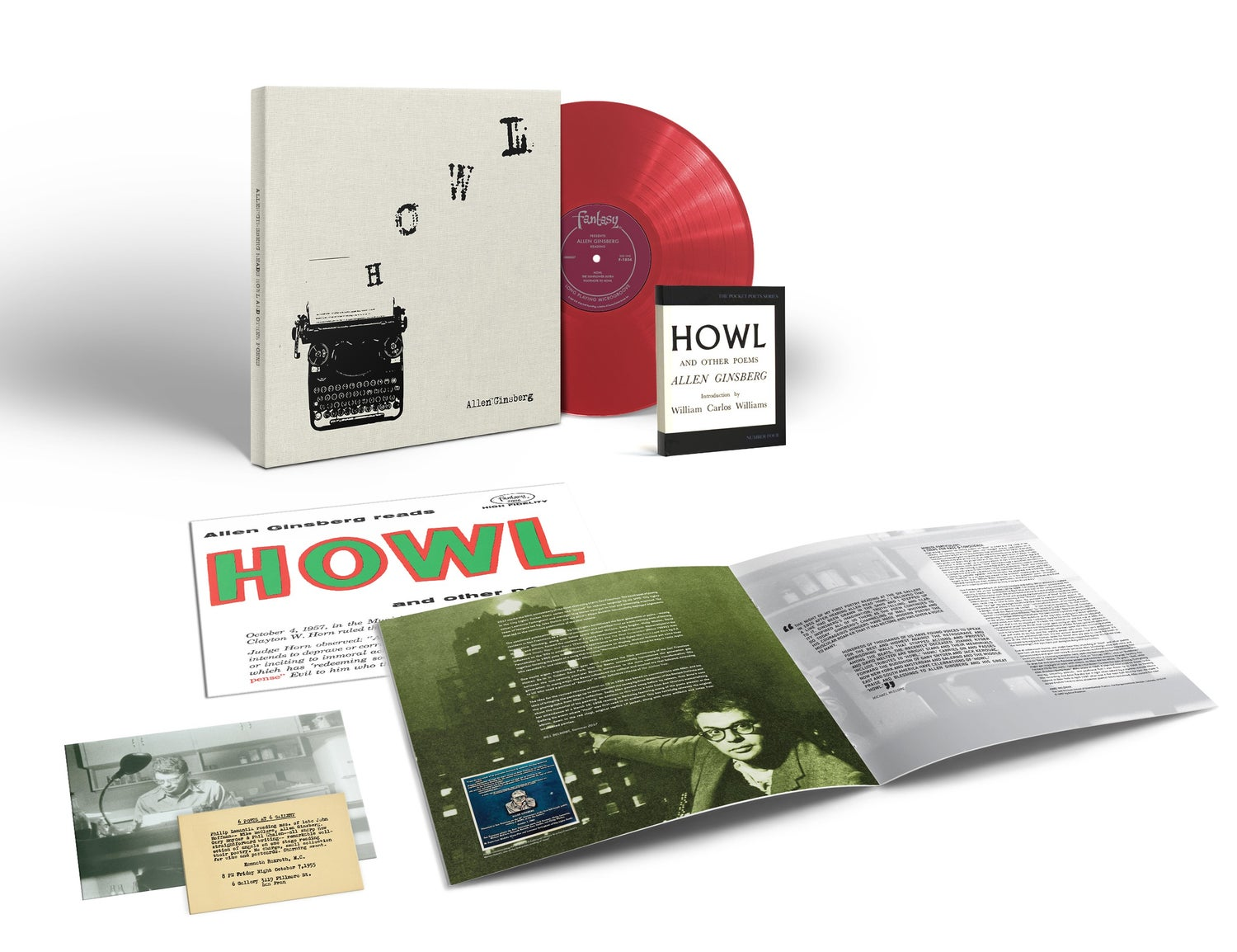 Howl And Other Poems - Deluxe Vinyl Box Set