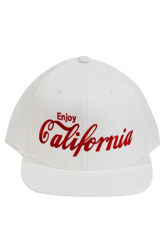 Image of Enjoy California White Snapback