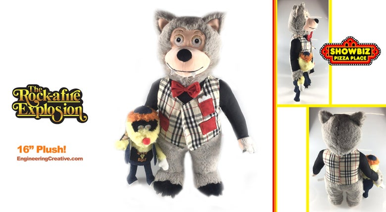 "Image of Rolfe and Earl - Rock-afire Explosion 16"" plush doll"