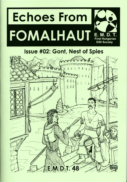 Image of Echoes From Fomalhaut #02: Gont, Nest of Spies