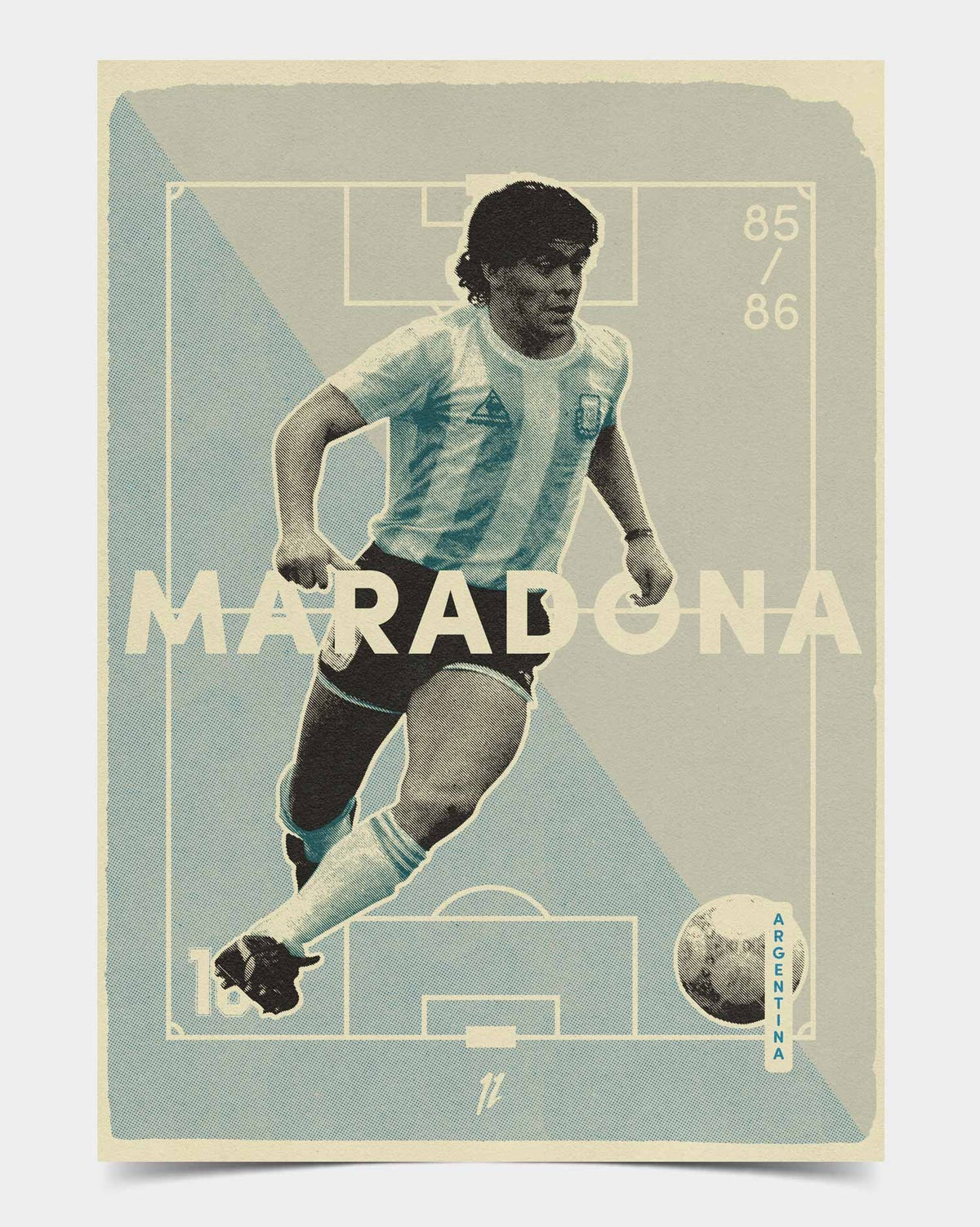 Image of Maradona Retro