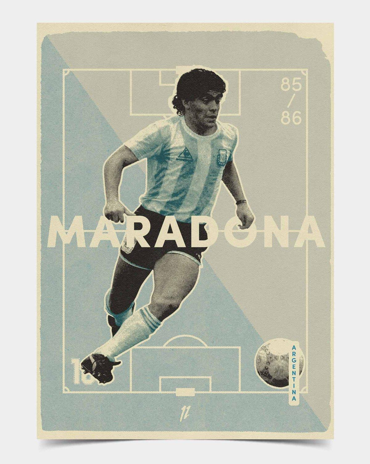 Image of Maradona Retro