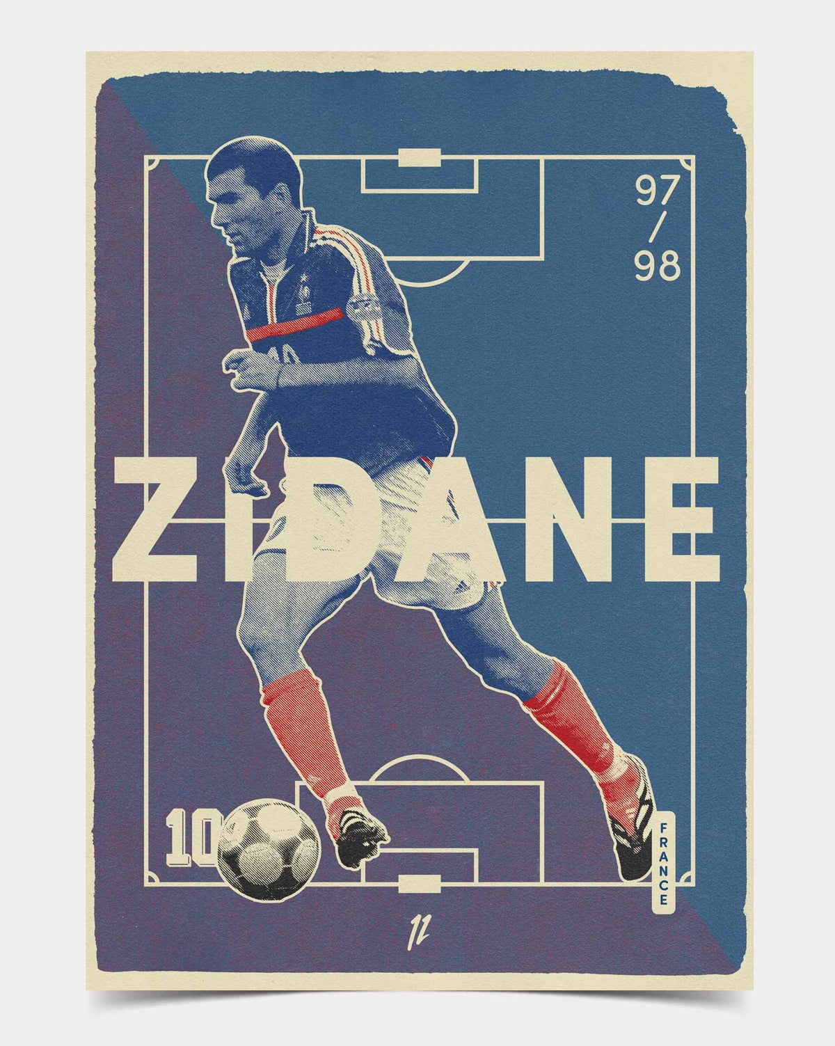 Image of Zidane Retro