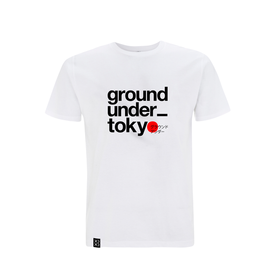 Image of Bedrock Ground_under Tokyo T-shirt White (Pre-order)