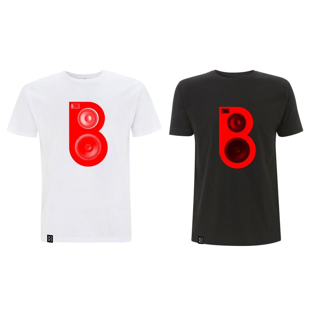 Image of Bedrock Red Speaker T-shirt Combo 2 for £40 (Pre-order)