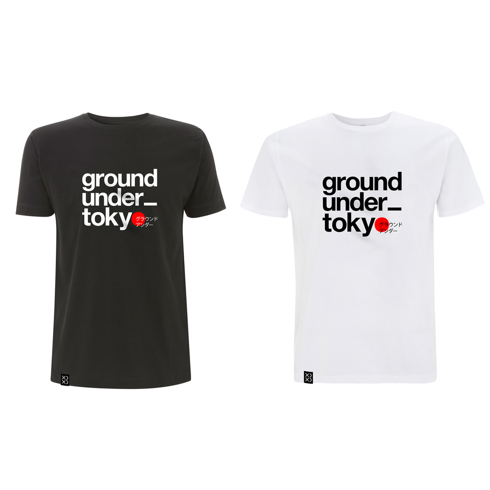Image of Bedrock T-shirt Ground_under Tokyo T-shirt Combo 2 for £40 (Pre-order)