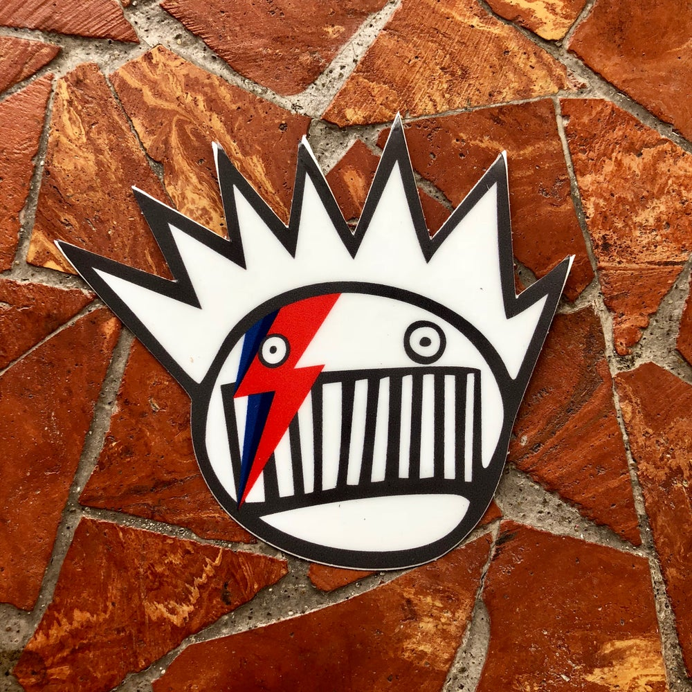 Image of Bowie/Boognish sticker