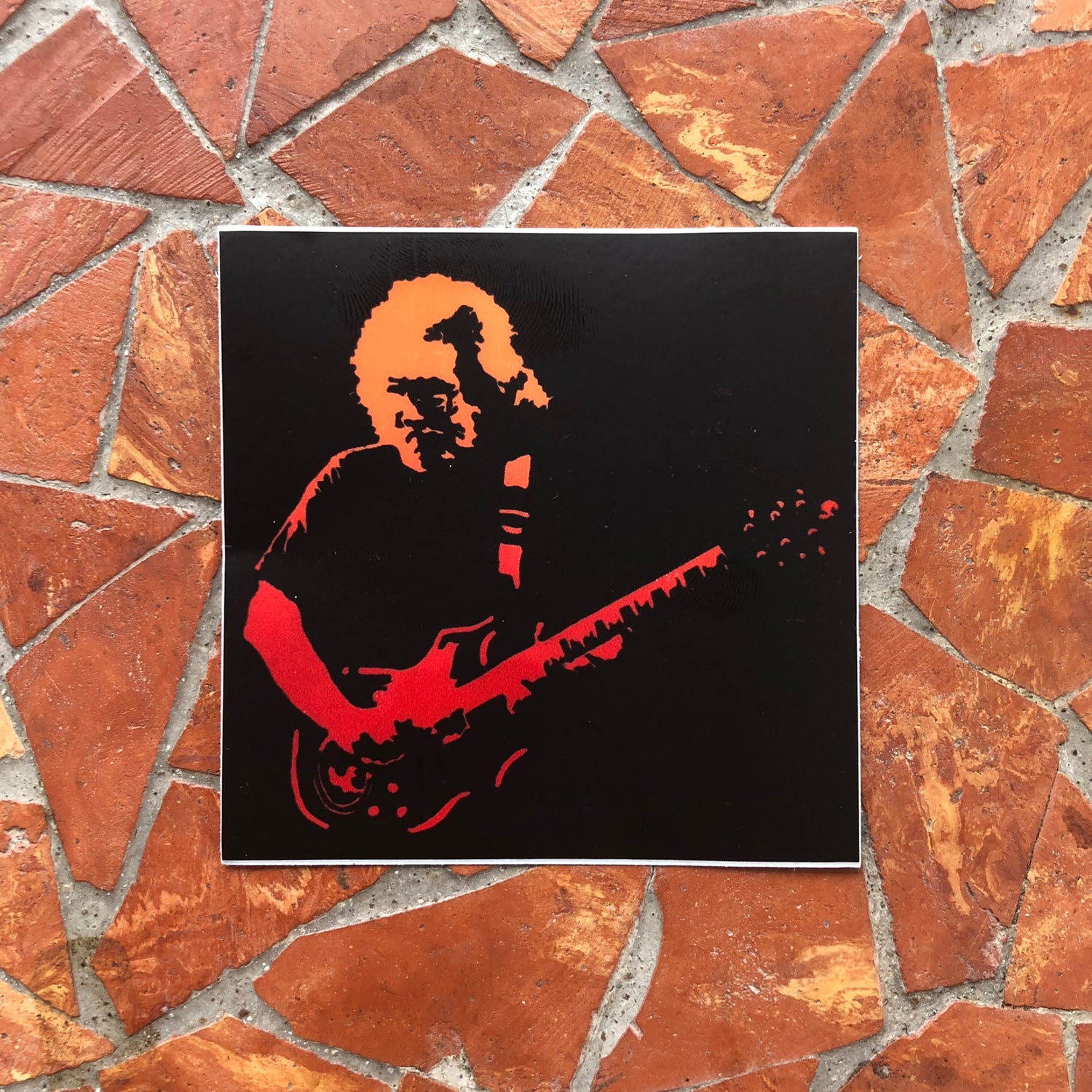 Image of Jerry Garcia sticker