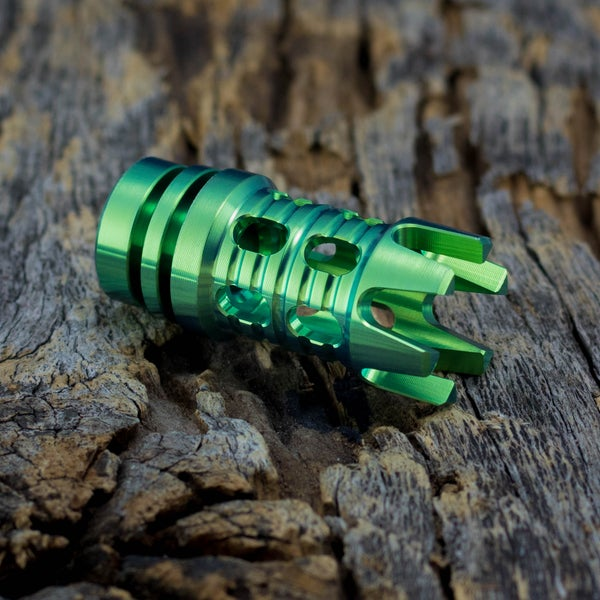 Image of Reaper Muzzle Brake Bead - Toxic Green