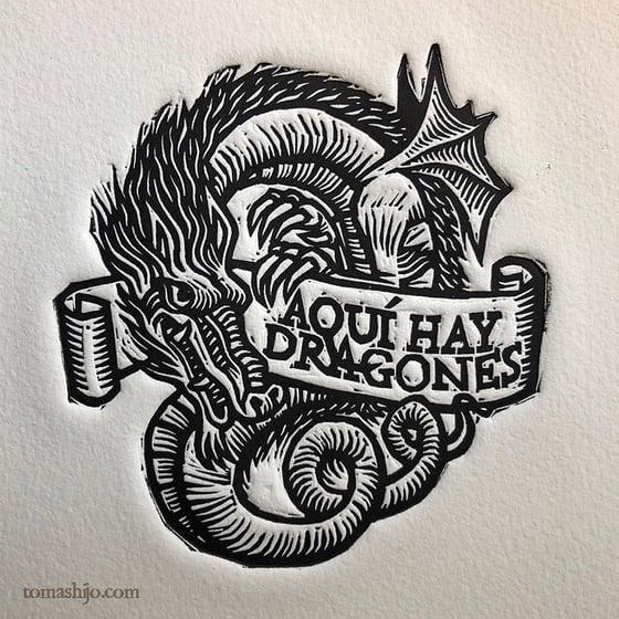 Image of Aquí hay dragones