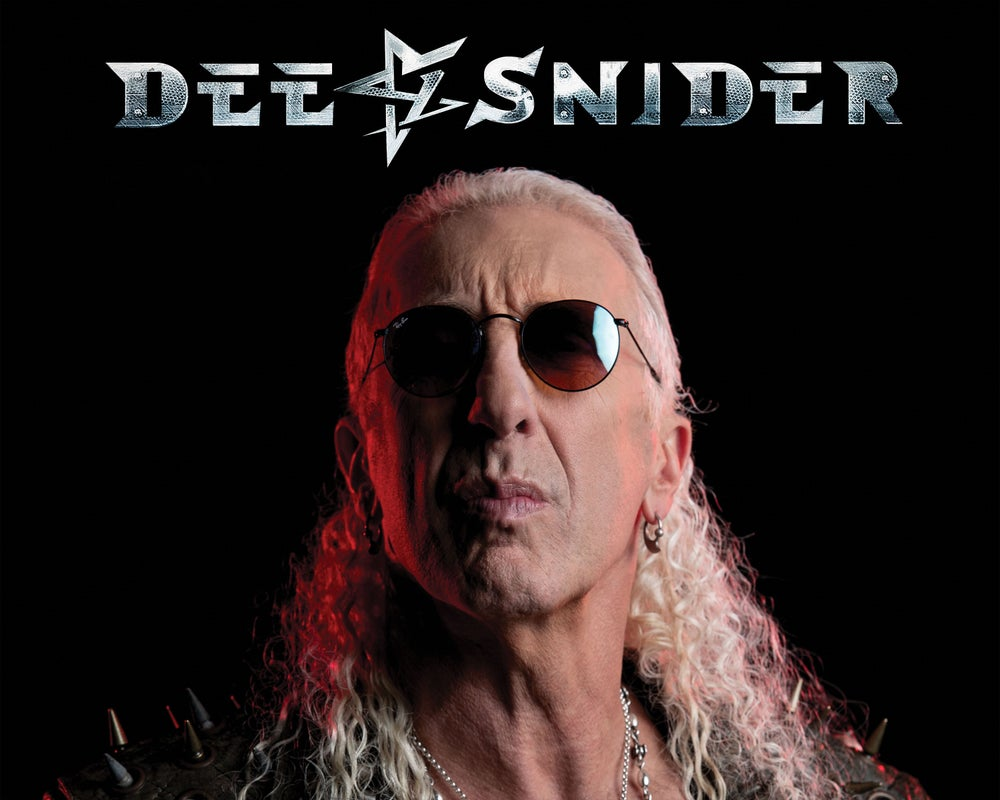 """DEE SNIDER """"FOR THE LOVE OF METAL"""" CD"""
