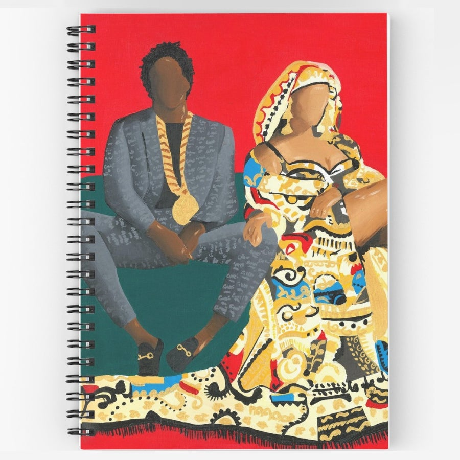 Image of THE CARTERS (Notebook)