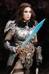 Skyrim Glass Sword for Cosplay, Resin, Prop, Replica