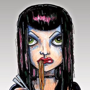Image of Ramen Girl - Sticker