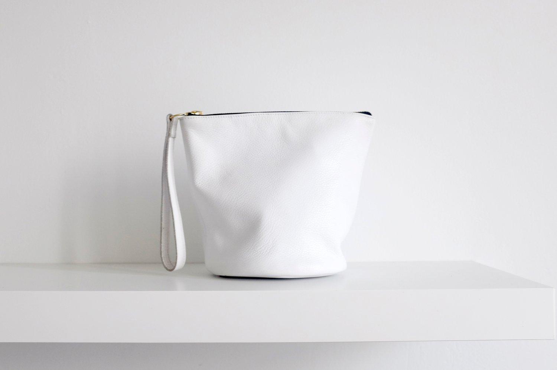Image of Wristlet Clutch | White