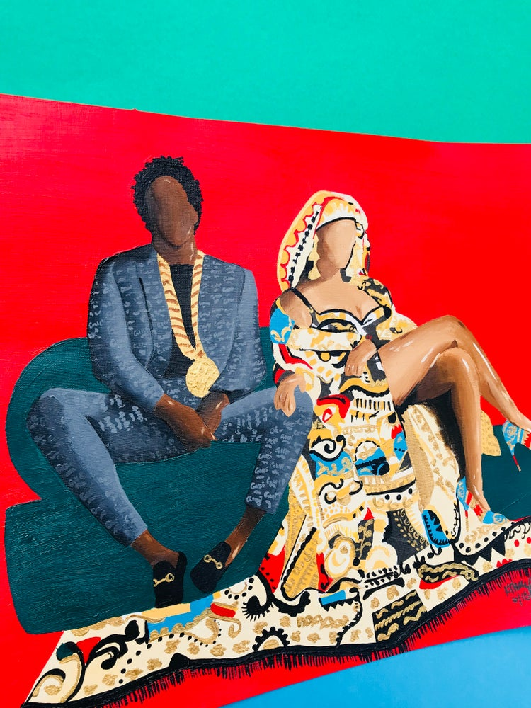 Image of THE CARTERS (Poster Prints & Original)