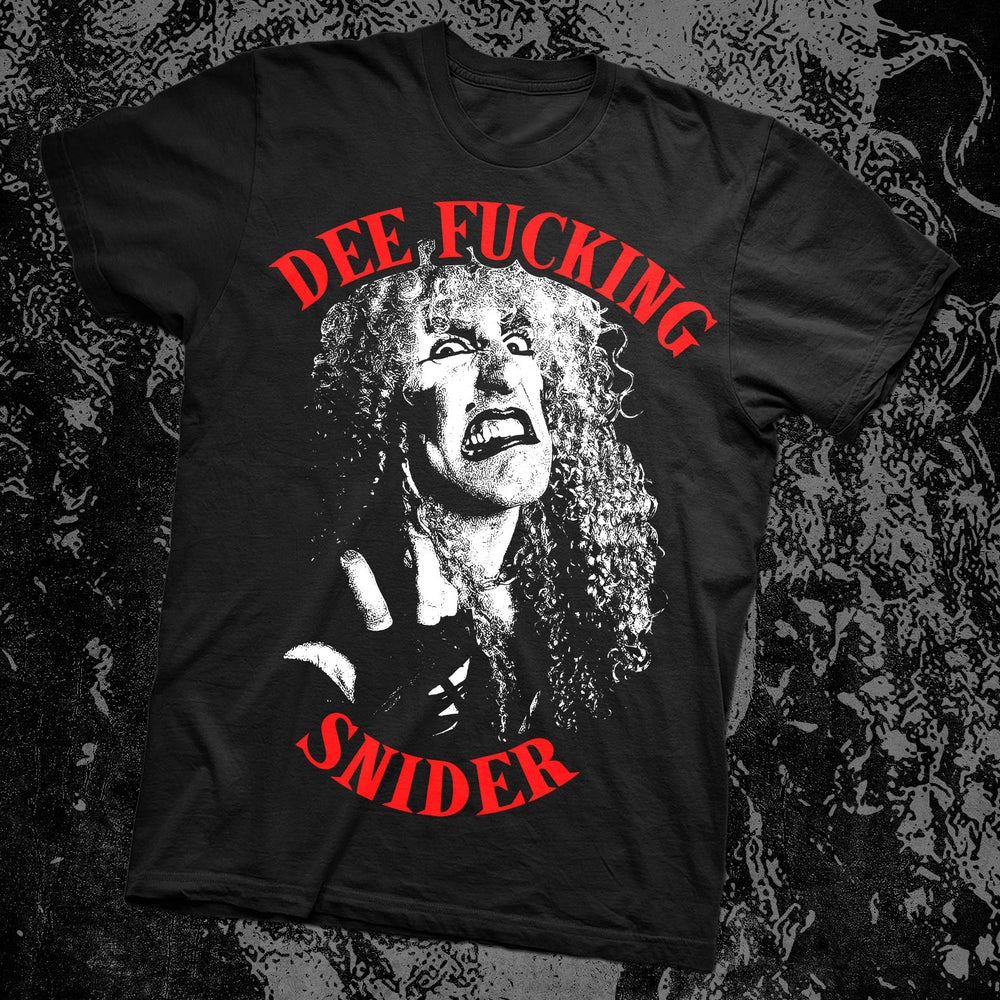 Image of DEE SNIDER SHIRT (F-Bomb Design)