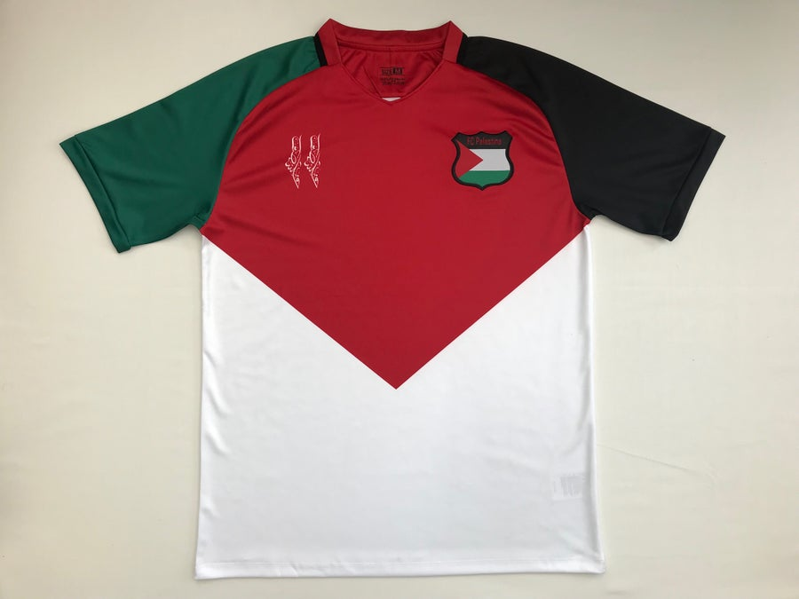 Image of Palestine Flag Football Shirt