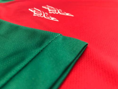 Image of Palestine Flag Football Shirt