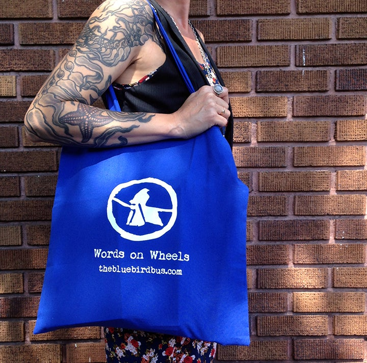 Image of Bluebird tote bag