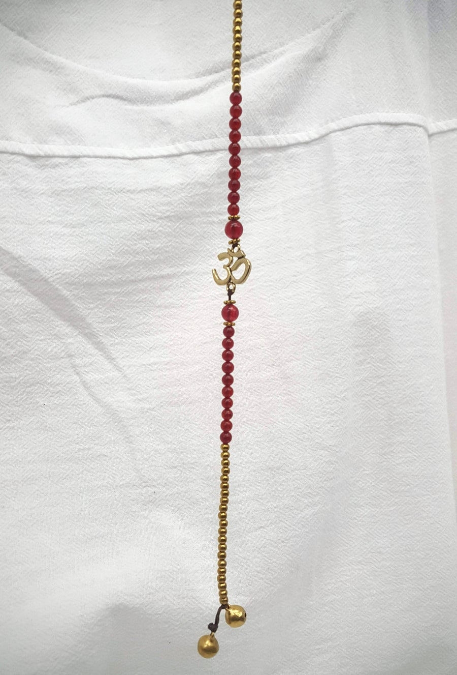 Image of OM Anklet (various gemstone)