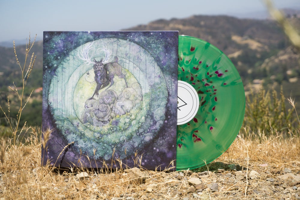 Image of Kubbi - Taiga LP [Green Cloudy / Purple Splatter]