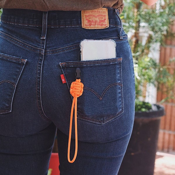 Image of Cellphone lanyard (double strap)