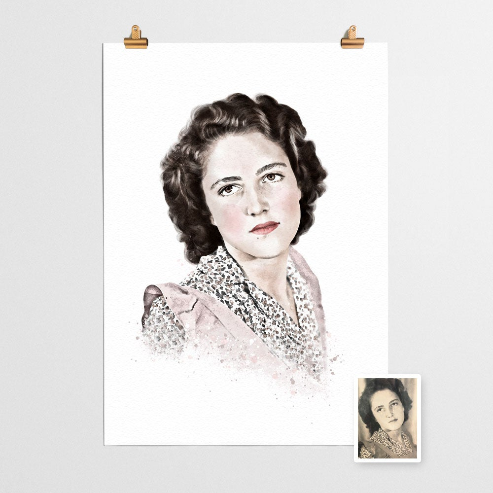 Image of Custom Portrait Classic