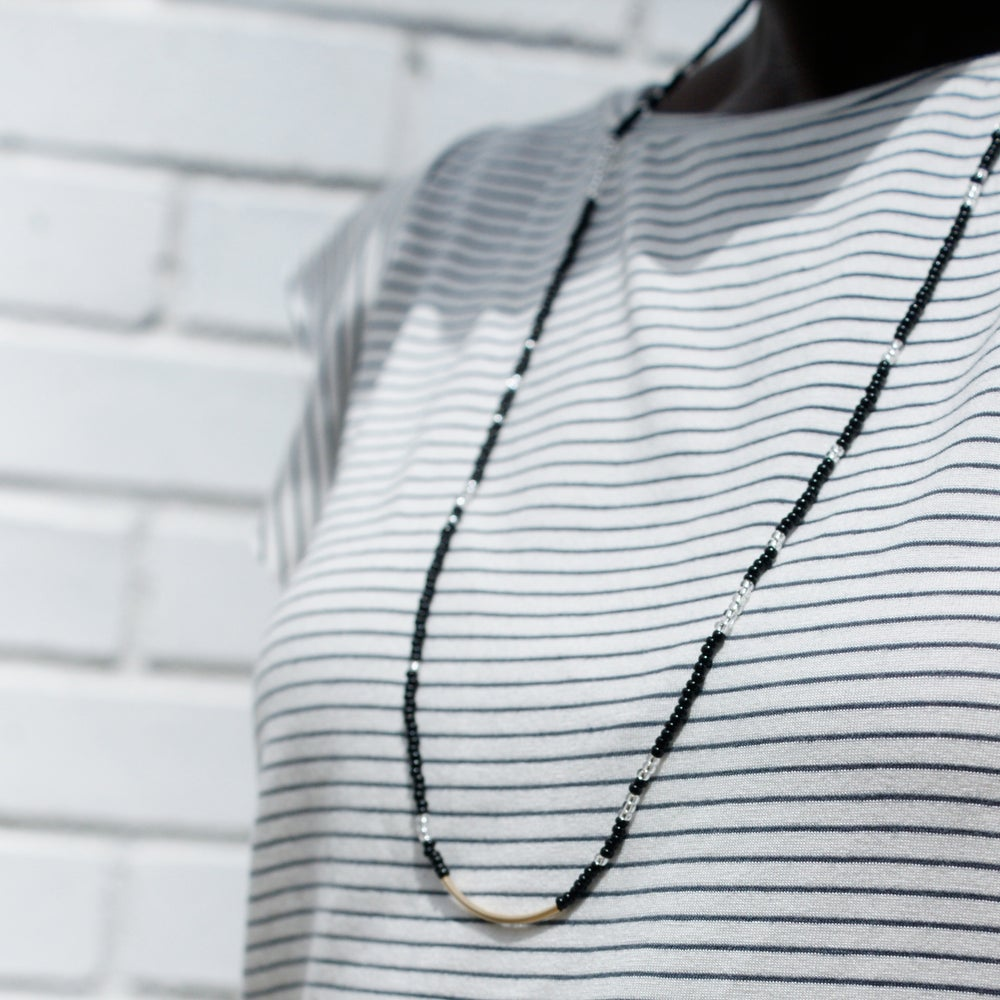 Image of Sow and Ye necklace - Black