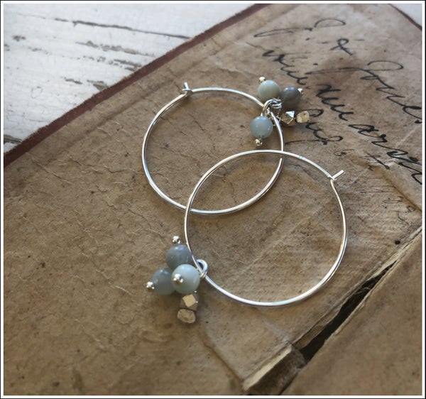 Image of Seafoam Cluster Hoops