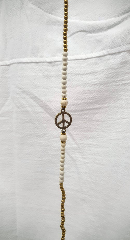 Image of Peace Anklet (various gemstone)
