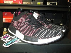 "adidas NMD R1 STLT PK ""Black/Pink"" - FAMPRICE.COM by 23PENNY"